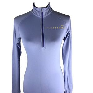 Nike Dri-FIT Element Livestrong Zip Athletic Top